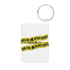 Hockey Crime Tape Keychains