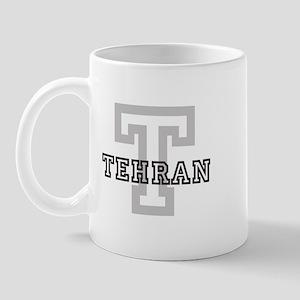 Letter T: Tehran Mug