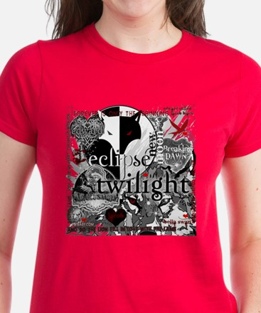 Must Have Twilight Collage by Twibaby Women's Dark