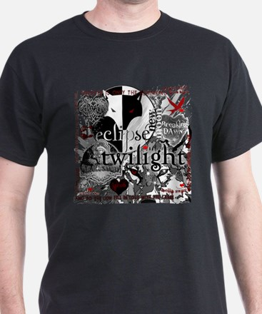 Must Have Twilight Collage by Twibaby T-Shirt