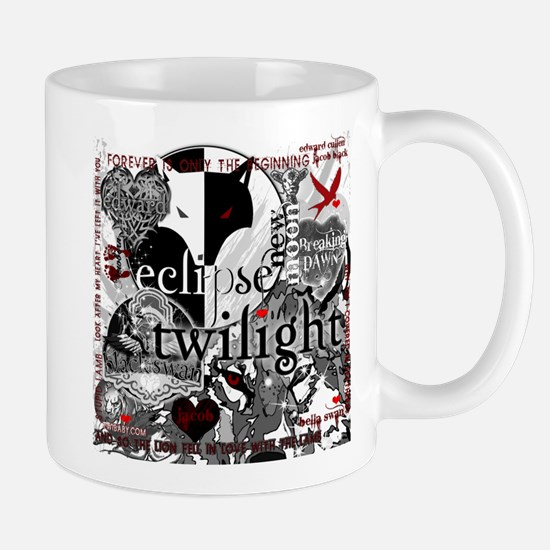 Must Have Twilight Collage by Twibaby Mug