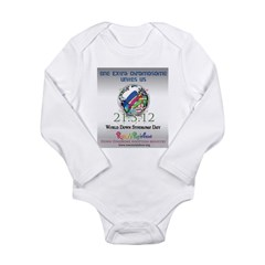 World Down Syndrome Day 2012 Long Sleeve Infant Bo