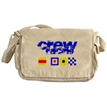 'Race 2 Win' in this Messenger Bag
