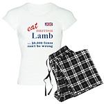 Slam in the Lamb Women's Light Pajamas