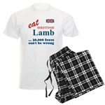 Slam in the Lamb Men's Light Pajamas