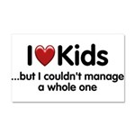 The Kids Lunchtime Car Magnet 20 x 12