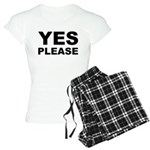 Say Please With This Women's Light Pajamas