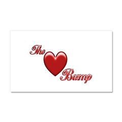 The Love Bump Car Magnet 20 x 12