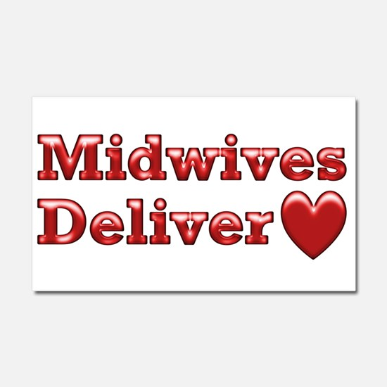Delivering Love With This Car Magnet 20 x 12