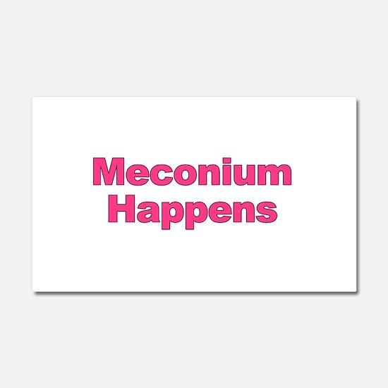 The Meconium Car Magnet 20 x 12