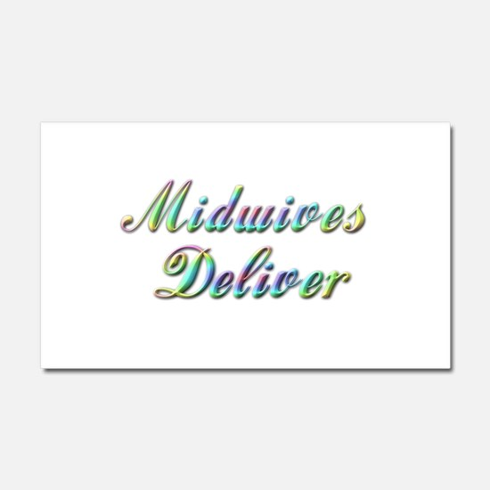 Deliver With This Car Magnet 20 x 12