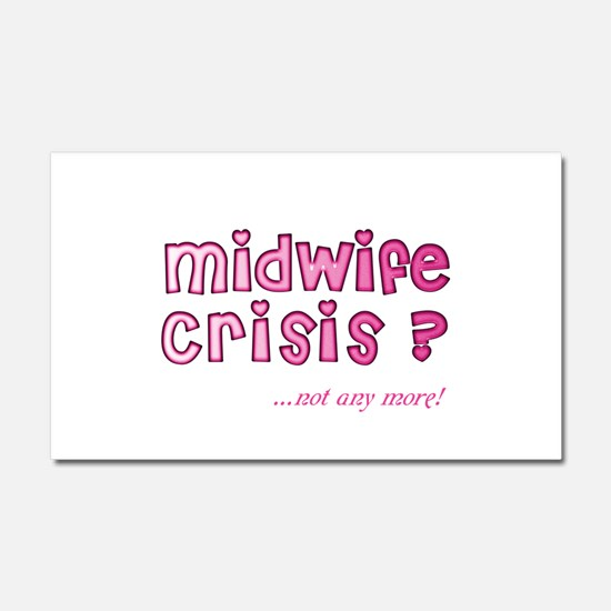 Avert a Crisis with this Car Magnet 20 x 12