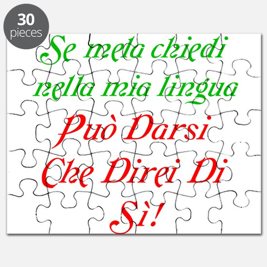 The italian Puzzle