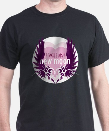 New Moon Pink Heart by Twibaby T-Shirt