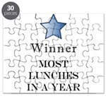 Thee Free Lunch Award - Puzzle