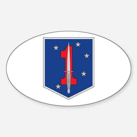 1st Marine Special Operations Battalion Decal