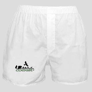Wildlife Coexist Boxer Shorts