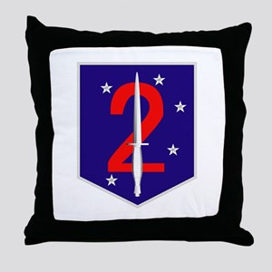 3rd Marine Expeditionary Force Throw Pillow