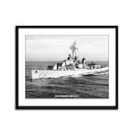 USS MADDOX Framed Panel Print