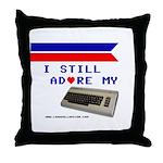 I Still Adore my C64 Throw Pillow