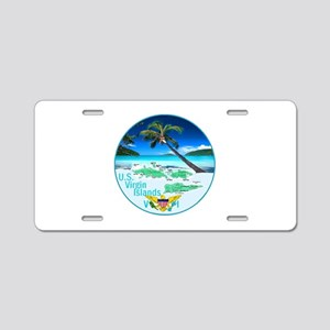 VIRGIN ISLANDS Aluminum License Plate