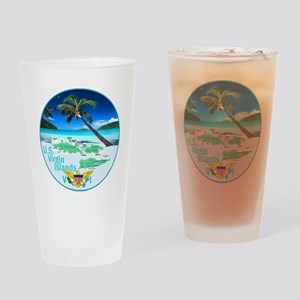 VIRGIN ISLANDS Drinking Glass