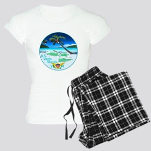 VIRGIN ISLANDS Women's Light Pajamas