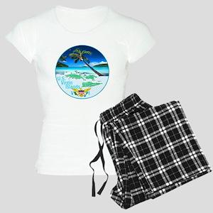 VIRGIN ISLANDS Women's Light Pajamas