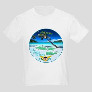 VIRGIN ISLANDS Kids Light T-Shirt