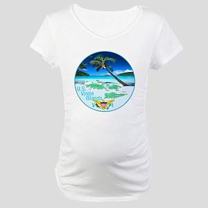 VIRGIN ISLANDS Maternity T-Shirt