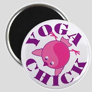Yoga Chick Magnet