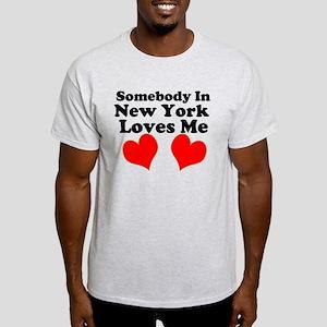 Somebody Loves Me Light T-Shirt