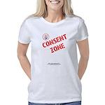 Consent Zone1-NoHands - Women's Classic T-Shirt