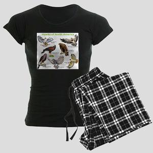 Hawks of North America Women's Dark Pajamas