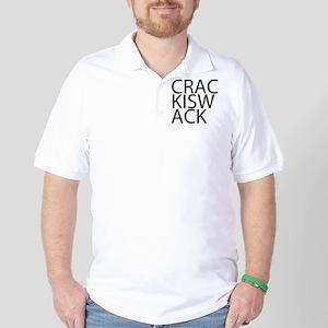Crack is Wack Golf Shirt