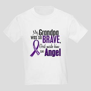 Angel 1 Pancreatic Cancer Kids Light T-Shirt