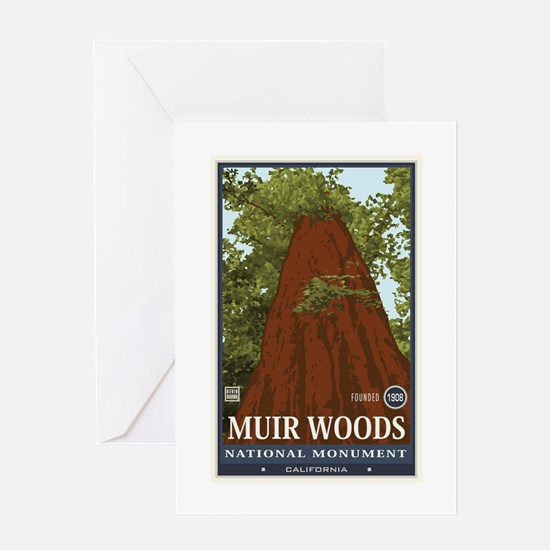 Muir Woods 3 Greeting Card