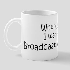 Grow Up Broadcast News Analys Mug