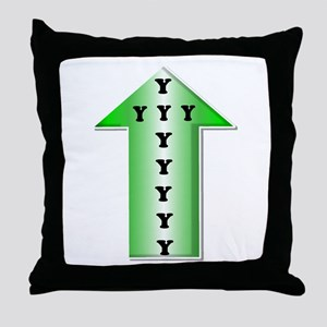 Wise Up! Throw Pillow