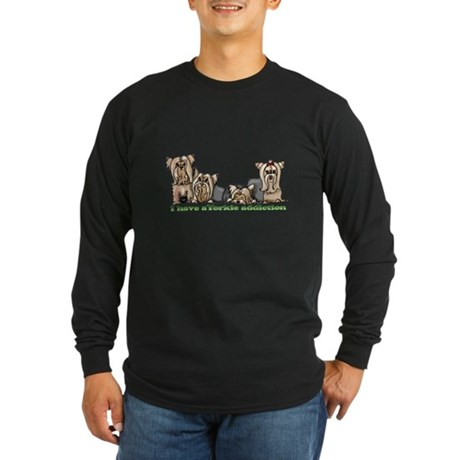 Fofa's friends Long Sleeve Dark T-Shirt