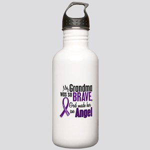 Angel 1 Pancreatic Cancer Stainless Water Bottle 1