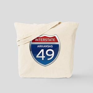 Interstate 49 Tote Bag