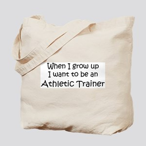 Grow Up Athletic Trainer Tote Bag