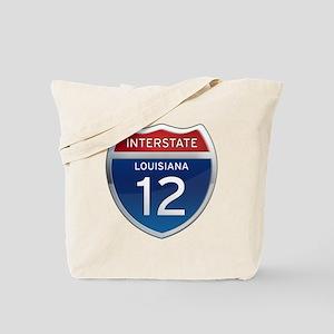Interstate 12 Tote Bag