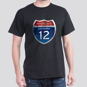 Interstate 12 Dark T-Shirt