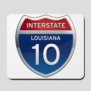 Interstate 10 Mousepad