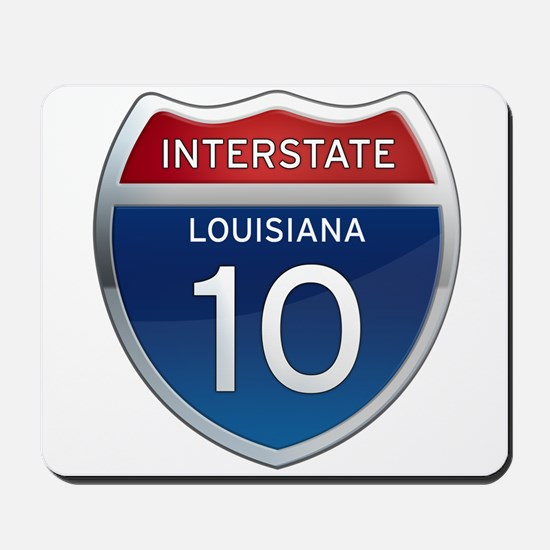 Interstate 10 Mousepad