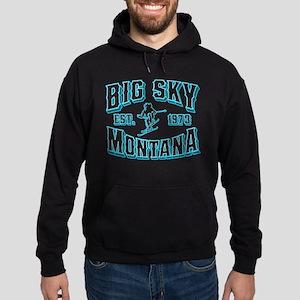 Big Sky Black Ice Hoodie (dark)