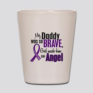 Angel 1 Pancreatic Cancer Shot Glass