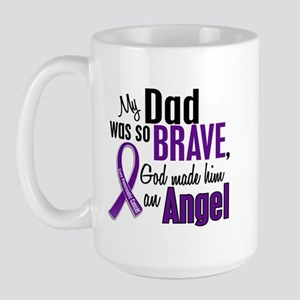 Angel 1 Pancreatic Cancer Large Mug